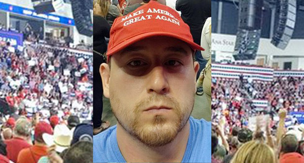 Albuquerque shooter Steven Baca attended Trump rally wearing red #MAGA hat: report