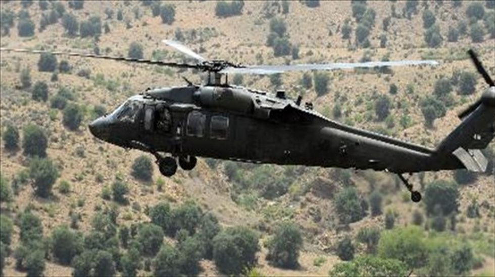 U.S. blames Taliban for December helicopter crash in Afghanistan