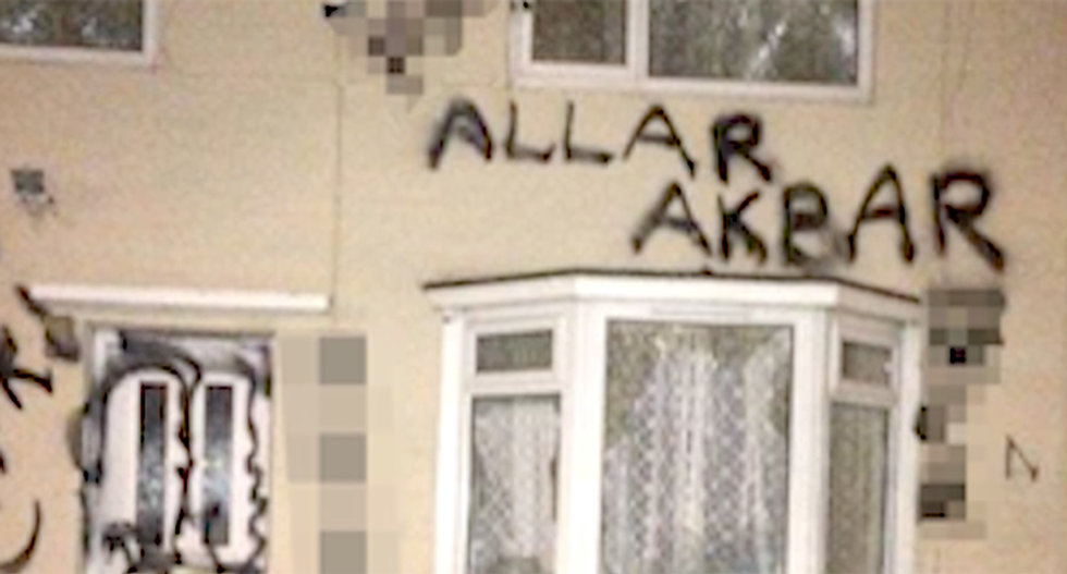 'We're not even Muslims': Hindu family attacked by confused racists -- who can't even spell