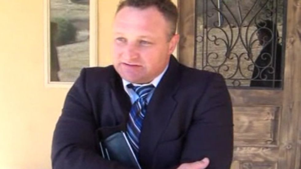 Pastor accused of paying homeless to fire-bomb ex professes innocence: 'I never did pay them'