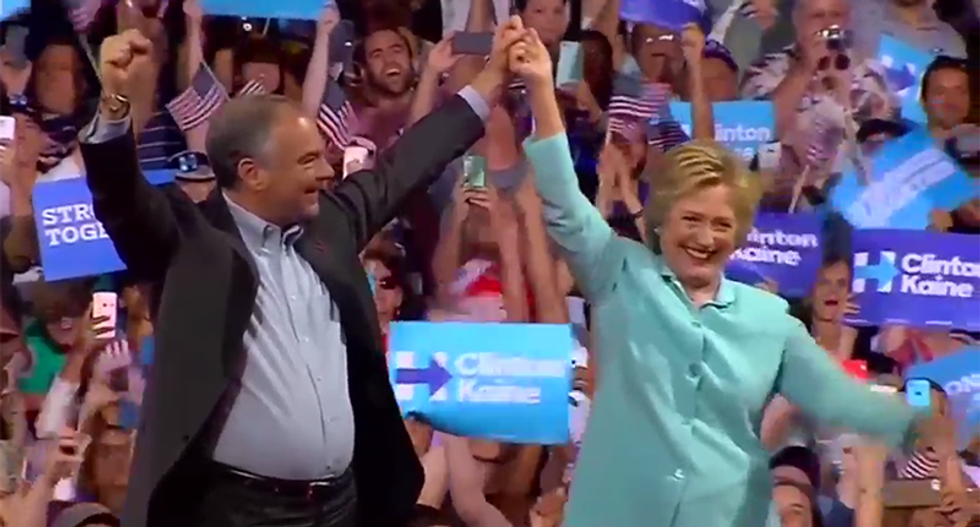 WATCH: Hillary Clinton and Tim Kaine Labor Day rally in Ohio