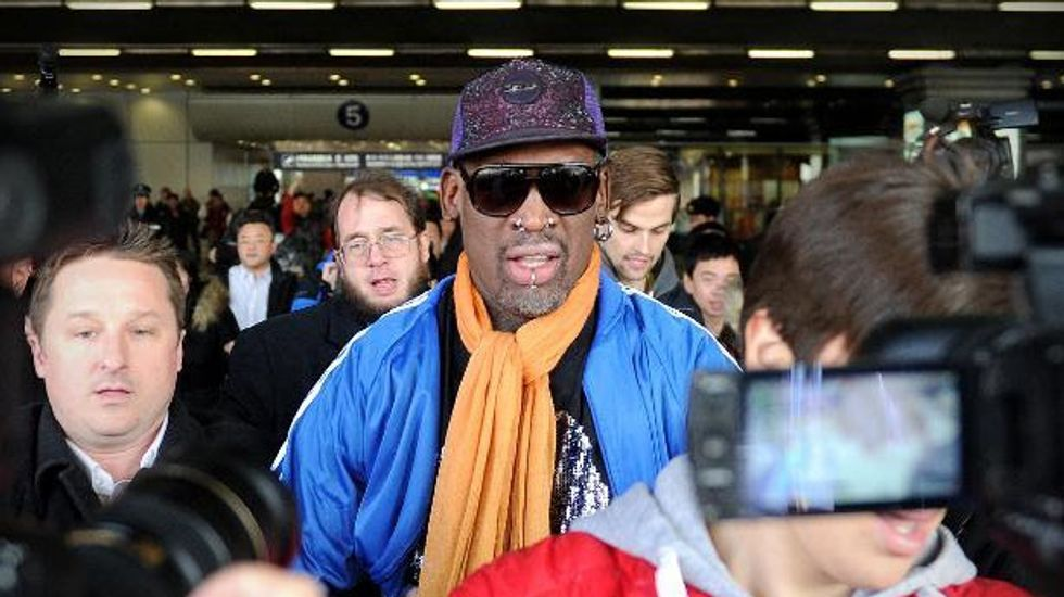 Dennis Rodman breaks down after apologizing for controversial North Korea trip