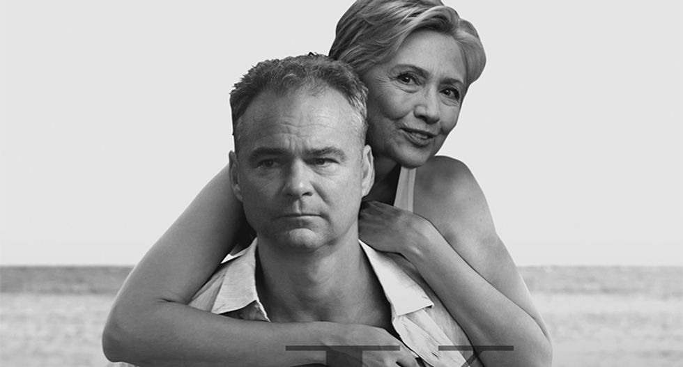 Samantha Bee crafts hilarious designs for Clinton Kaine campaign