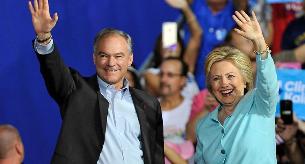 Tim Kaine wows crowds on day one as Hillary Clinton's running mate
