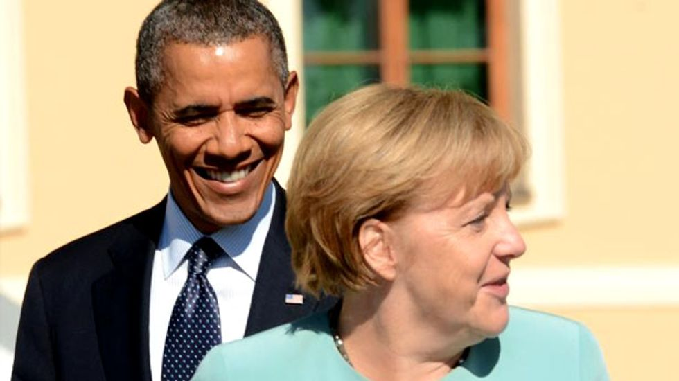 Merkel pressed to confront Obama over NSA scandal prior to talks