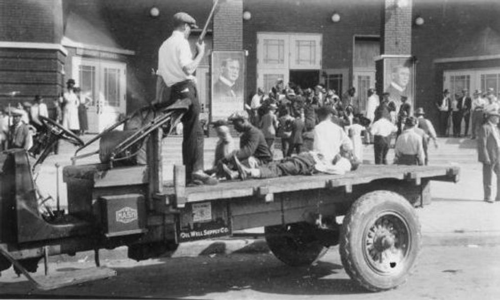 Tulsa: Two racist white mobs -- 1921 and 2020