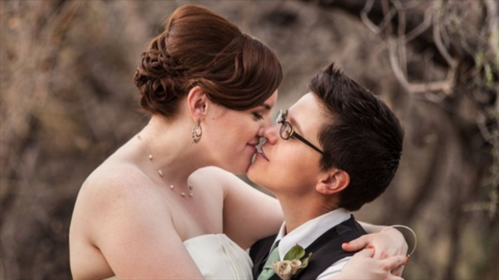 Same-sex couples flock to Arkansas after judge strikes down marriage ban