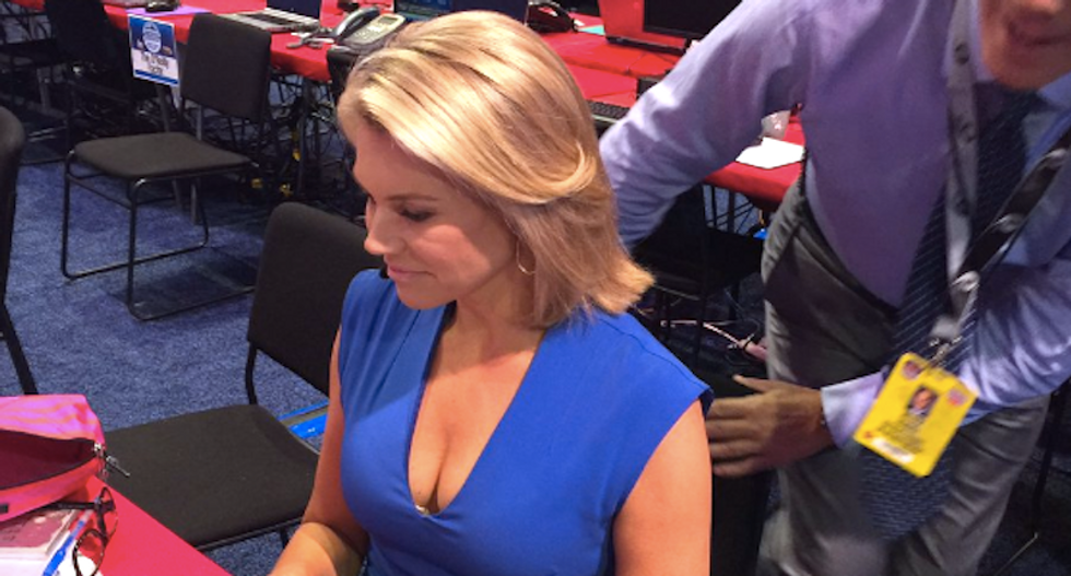 'Fox and Friends' tweets and deletes creep shot of news anchor as sexual harassment claims pile up