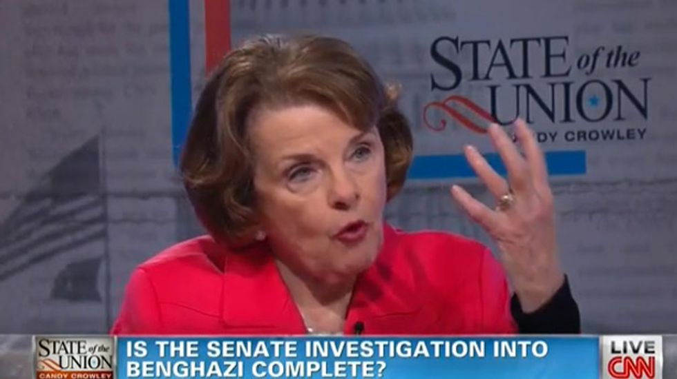 Sen. Feinstein: GOP led committee on Benghazi is a 'hunting mission for a lynch mob'