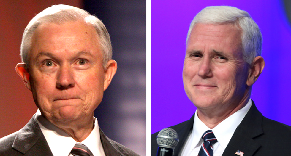Mike Pence and Jeff Sessions are the big losers in James Comey's testimony — here's why