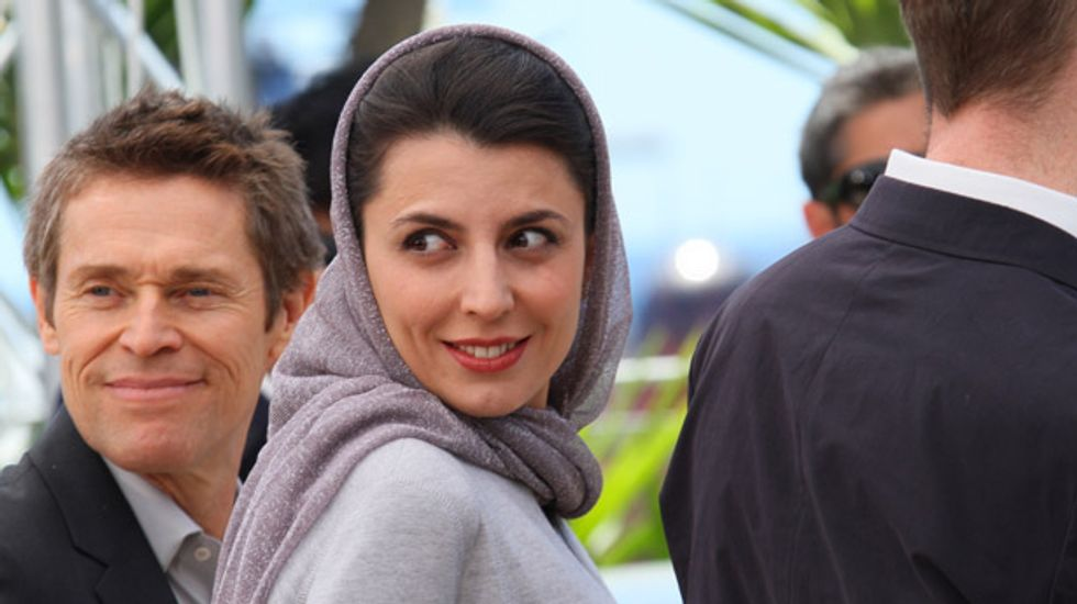 Tehran: Iranian actress kiss on the cheek at Cannes an affront to 'chastity of Iranians'
