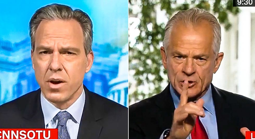 Peter Navarro explodes with bigotry on CNN: 'That virus was a product of the Chinese Communist Party'