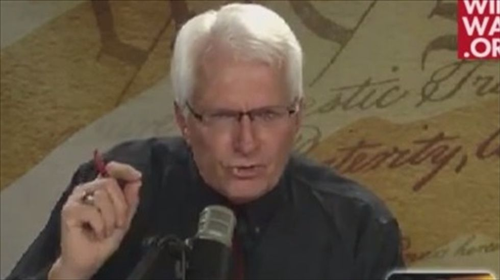 Christian radio host backs Ablow: 'Science' of the Bible says trans people don't exist