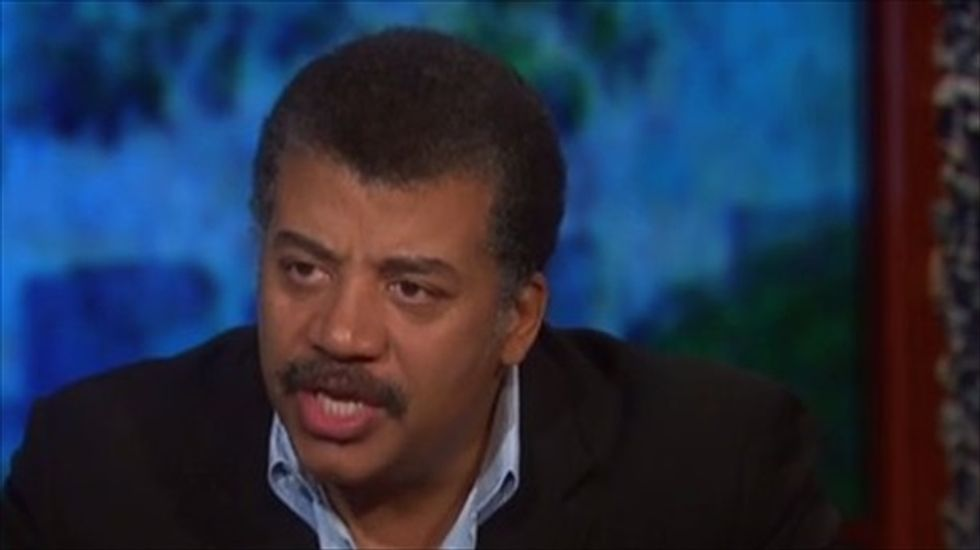 Neil deGrasse Tyson: 'God has to mean more to you than just where science has yet to tread'