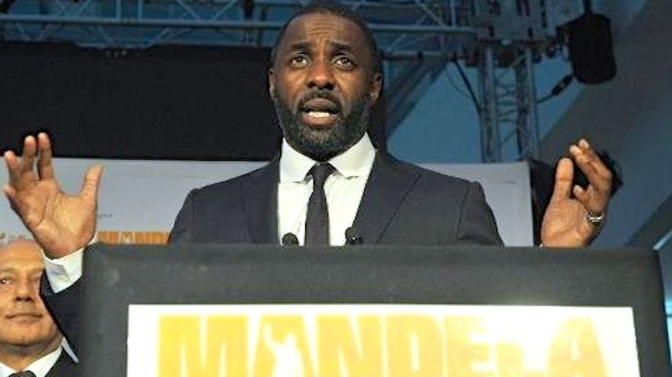 Mandela film starring Idris Elba smashes South Africa box office record