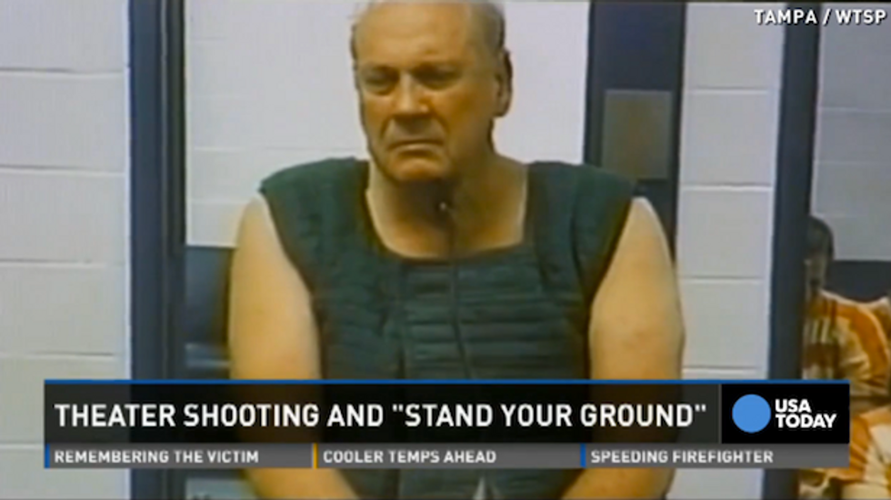 Sheriff rejects popcorn killer's 'stand your ground' defense: 'Why didn't he move seats?'