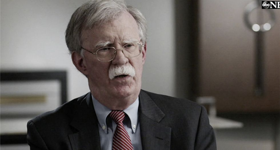 Even if I testified -- 'it would not have made any difference because minds were made up on Capitol Hill': Bolton says