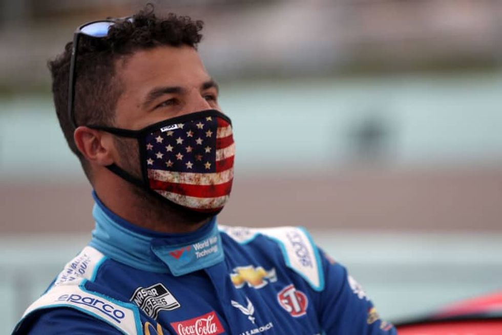 NASCAR driver Bubba Wallace has noose found in his car's garage stall at Talladega