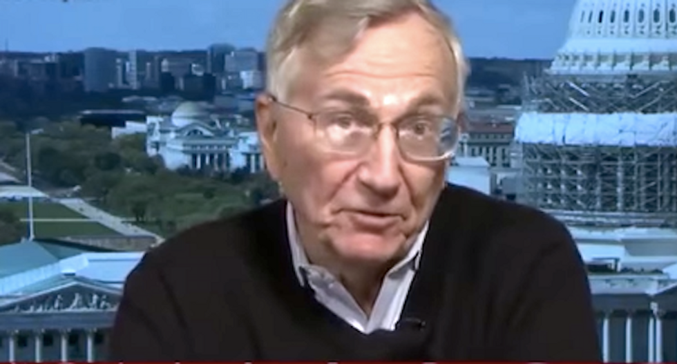 Seymour Hersh slams 'crazy town' reporting on Russia hacks -- and hopes Trump might improve politics