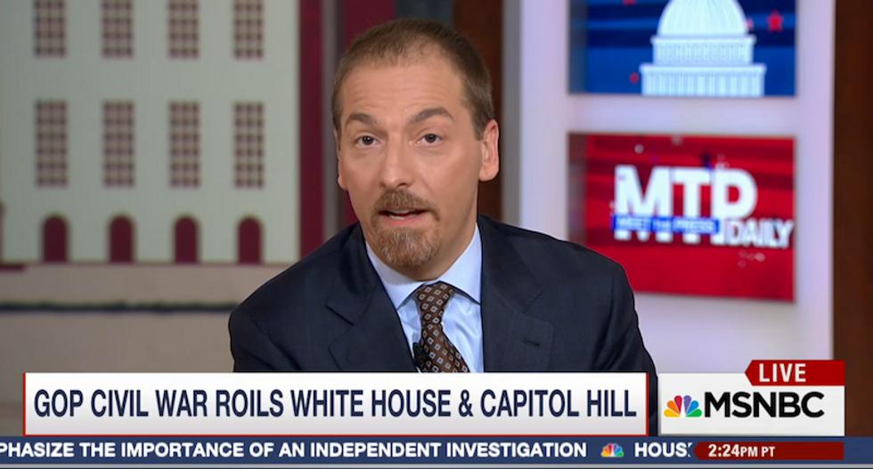 Chuck Todd: GOP alliances 'dramatically breaking down' despite being majority in Congress
