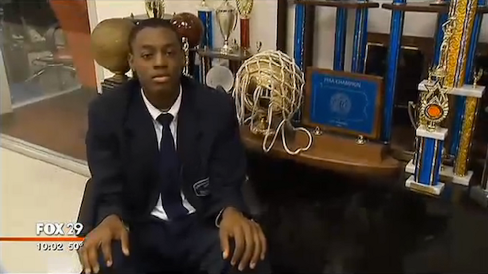 Philadelphia teen suffers ruptured testicle and hit with misdemeanors during police patdown