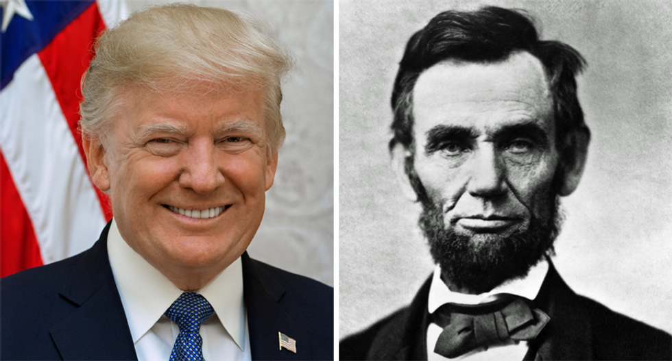 The Gettysburg Address was 272 words -- while Trump's ramp talk topped at 1798