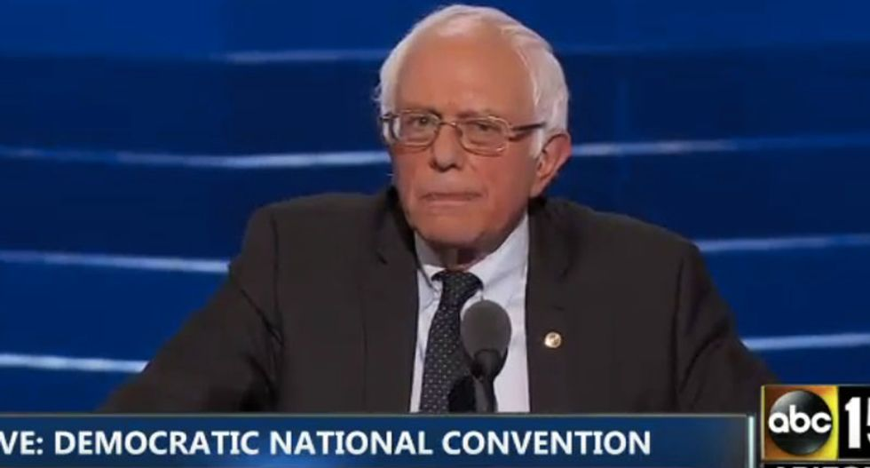 WATCH: Bernie Sanders gets booed again – but this time he crushes hecklers with the perfect response
