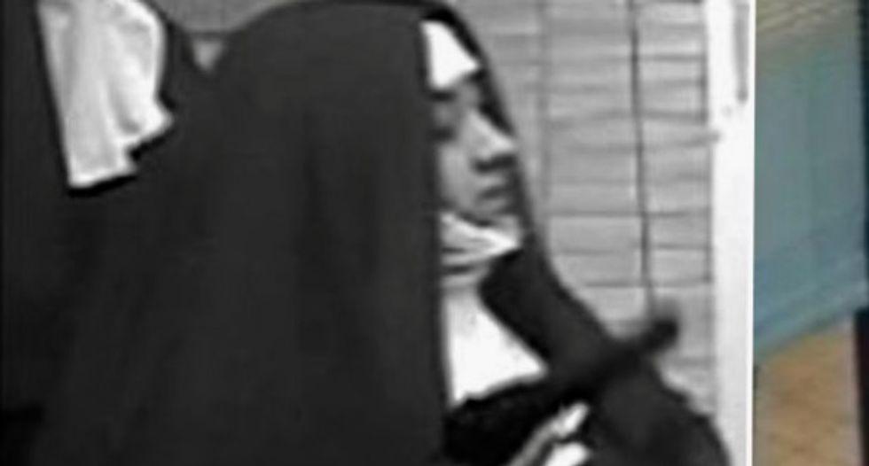 'Nuns' on the run after failed US bank heist