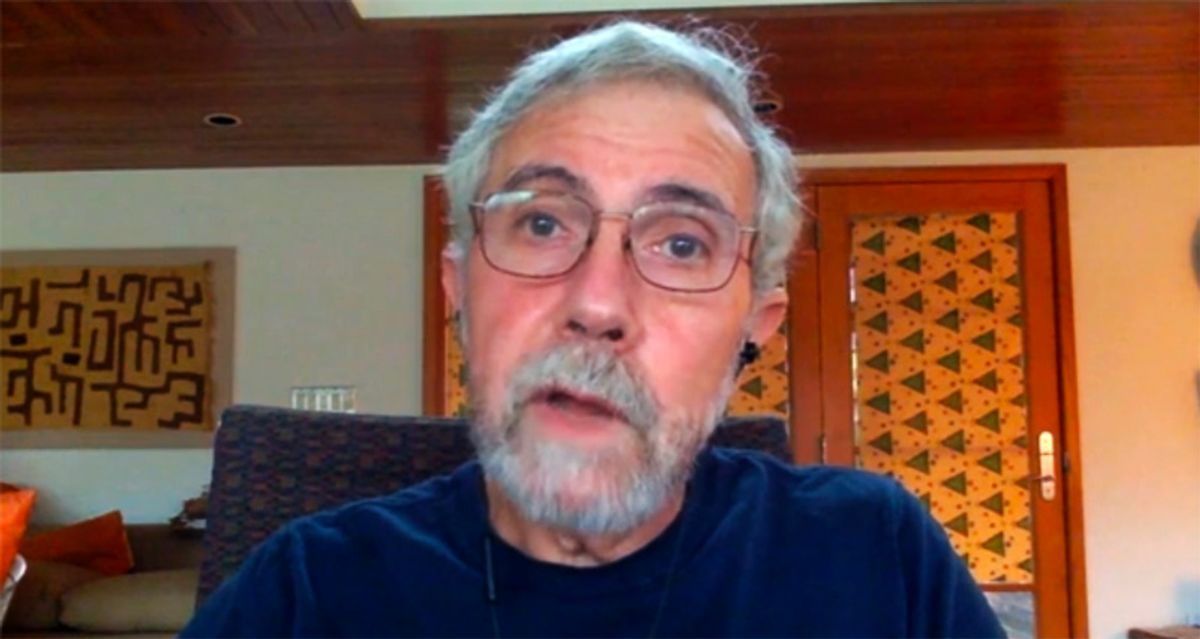 Paul Krugman blasts Republicans for 'bad faith' economic plan that insults struggling Americans