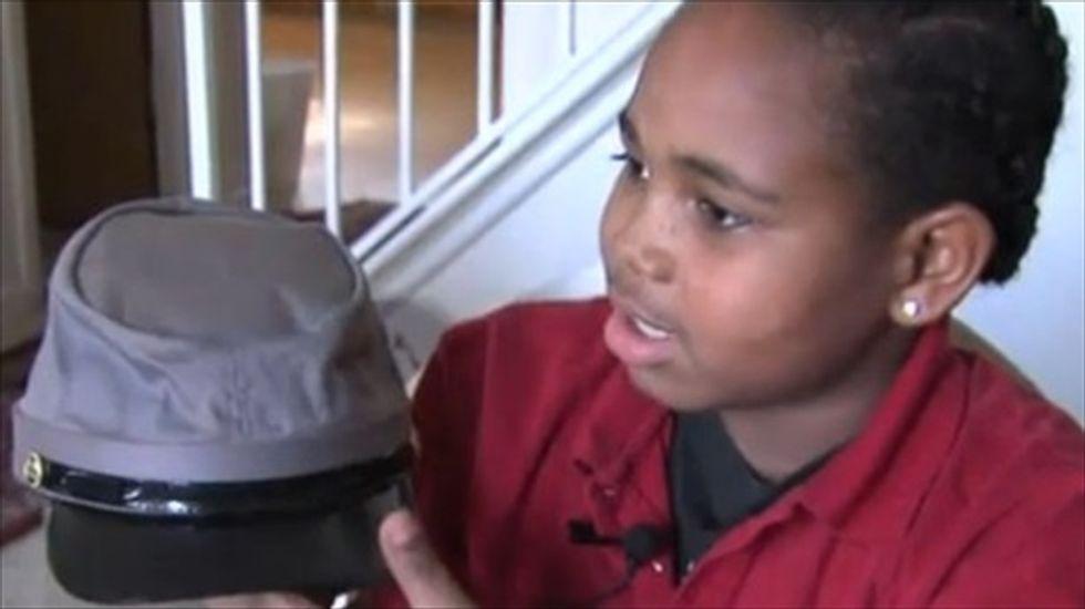 North Carolina school rewards Black student with a confederate hat