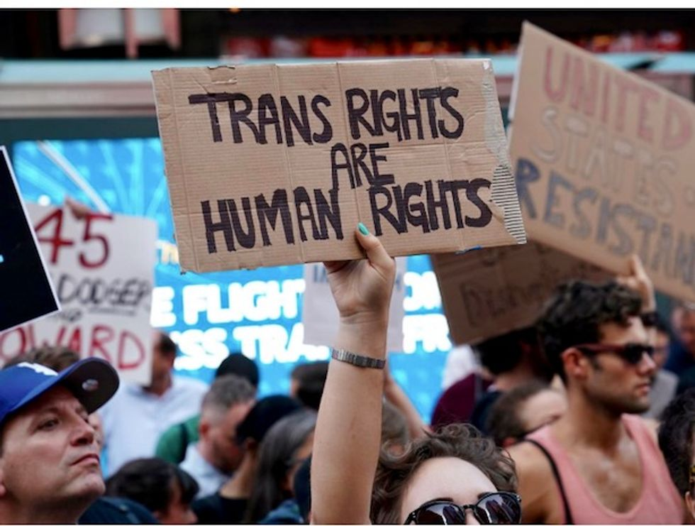 Trump administration trying to define transgender out of existence: NY Times