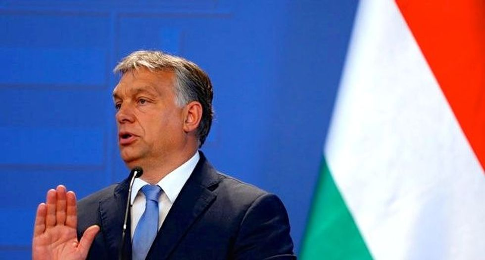 Hungary PM says supports Trump's foreign policy plans over Clinton's