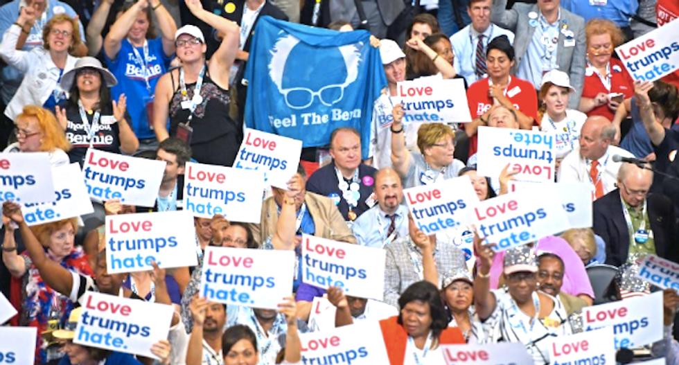 Social media slams Bernie backers for heckling black DNC speakers: 'Bad optics, but perfect metaphor'