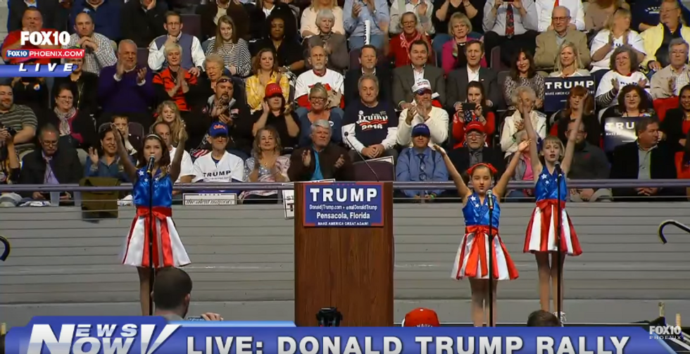 Man behind the creepy pro-Trump kid singers is suing the campaign after it lied about CD sales deal