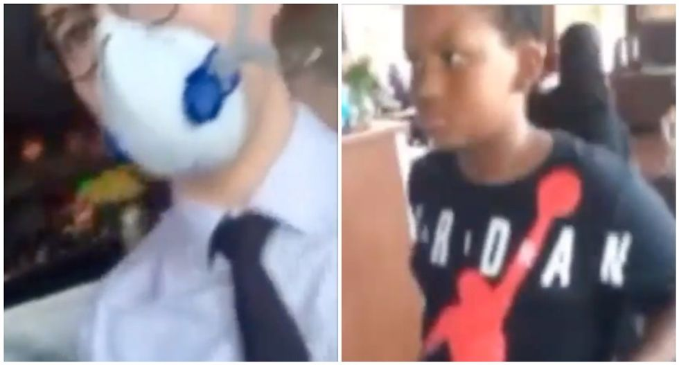 WATCH: Restaurant denies service to Black child over 'dress code' violation — after serving white boy in similar clothing