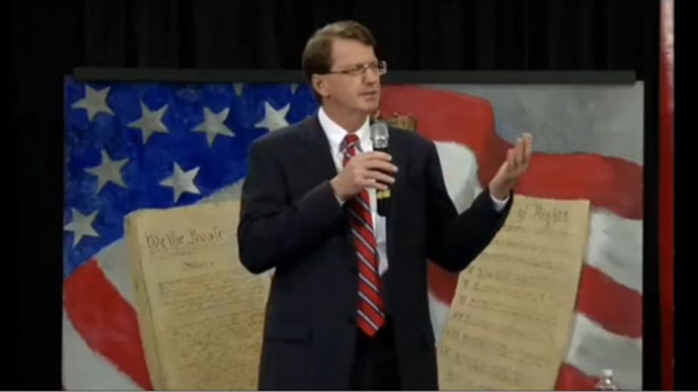 GOP candidate turns Martin Luther King's 'I have a dream' speech into anti-abortion rant