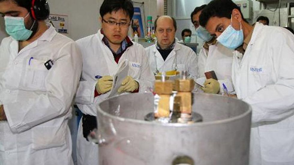 Iran agrees to limit enrichment of uranium in the presence of UN watchdog