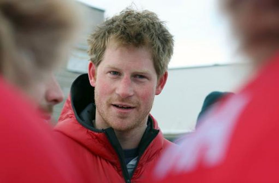 Royal flush: Prince Harry's king of the ice latrine