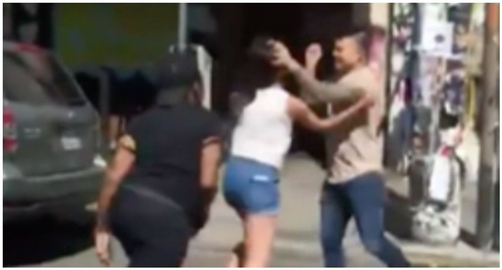 WATCH: Fight breaks out after restaurant manager calls woman the N-word to her face