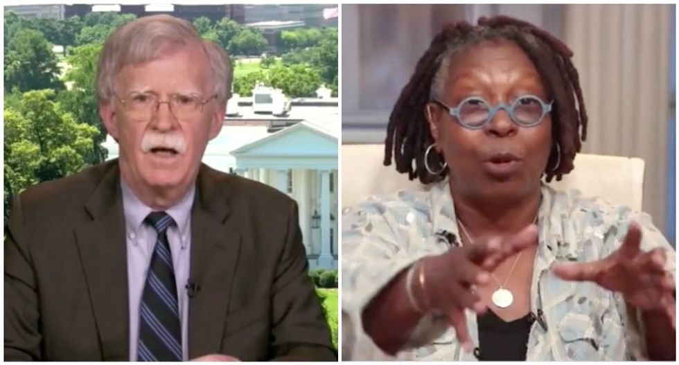 The View grills John Bolton on his refusal to testify in Trump's impeachment: 'Why didn't you step up?'