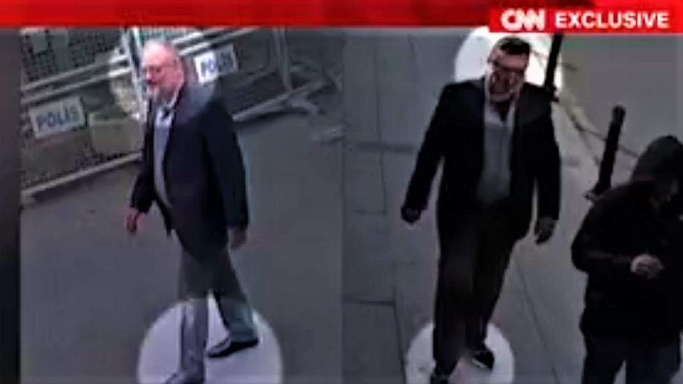 Bombshell CNN video shows the Saudis used a body double in botched attempt to cover up Jamal Khashoggi's murder