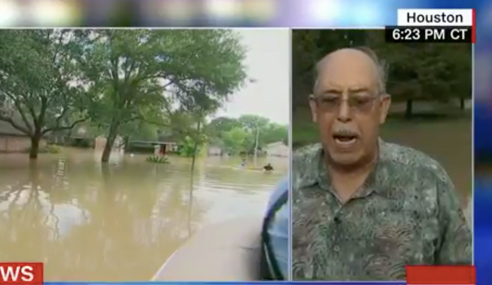 'Amateur hour': Hurricane Katrina military director blows up on CNN about inadequate Harvey response