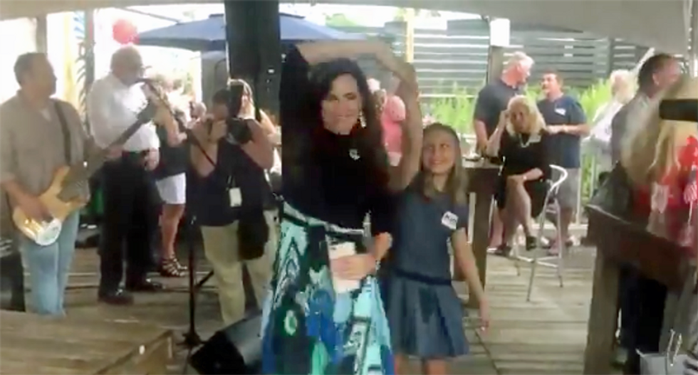 Republican who tested positive for COVID-19 had campaign event with a live band — but not masks
