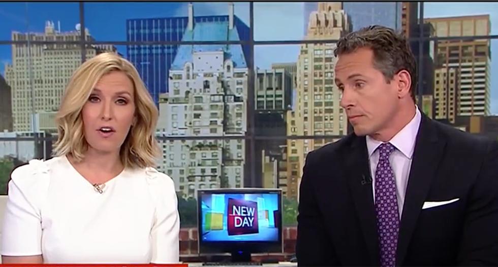 CNN host slams Trump for trashing media instead of calling slain Charlottesville victim's mother
