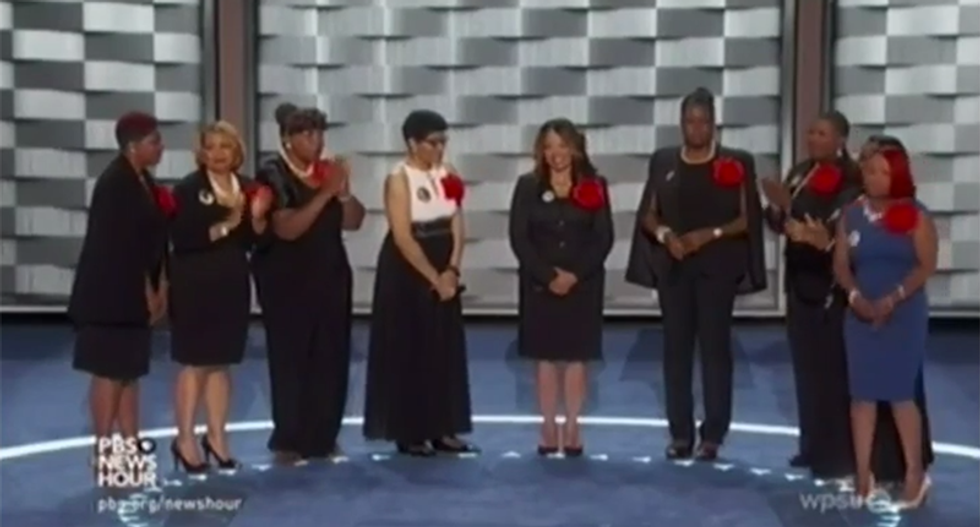 Racists light up social media with hate filled posts on #MothersoftheMovement