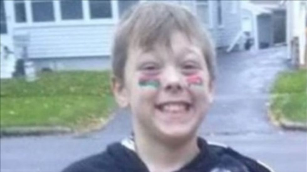 New York boy, 8, dies trying to save disabled grandfather from fire after alerting 6 others