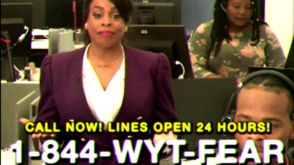 '1-844-WYT-FEAR': A new satirical hotline wants white people to stop calling the cops on Black people