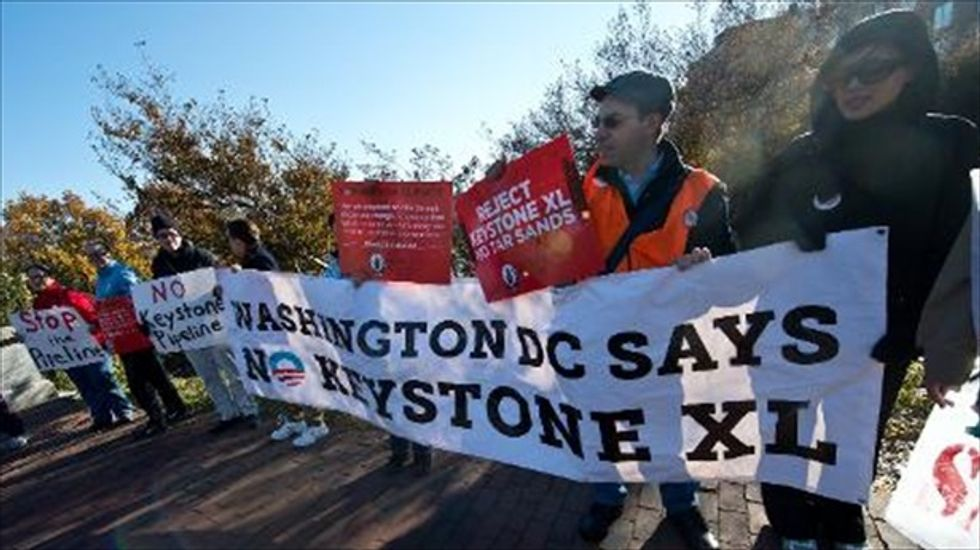 Senate Democrats may push for vote on Keystone XL pipeline in lame duck session
