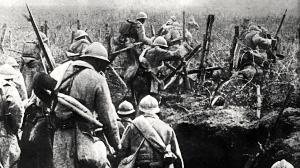 WWI roll call shows senior officers were mown down just like the ranks