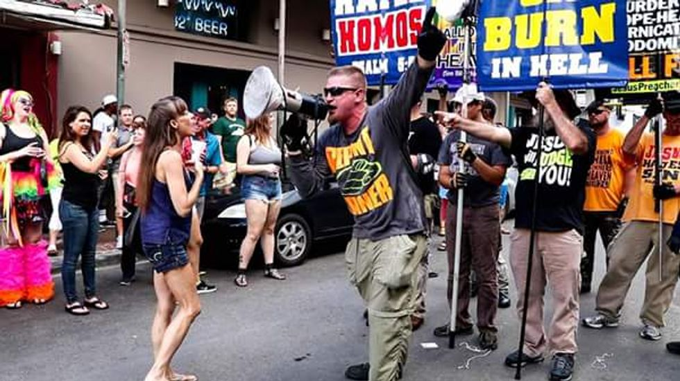 'God will wipe them out': White supremacist preacher promises 'bloodshed' at future rallies